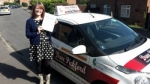 Clare Prowse passed with Dave Pickford Automatic Driver Training