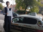 Connor H passed with Dave Pickford Automatic Driver Training