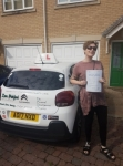 Coral passed with Dave Pickford Automatic Driver Training