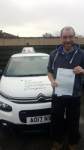 Dave passed with Dave Pickford Automatic Driver Training