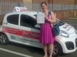 Diane Archer passed with Dave Pickford Automatic Driver Training