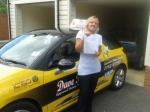 Donna Bush passed with Dave Pickford Automatic Driver Training