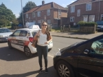 Dr Stefania passed with Dave Pickford Automatic Driver Training