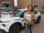 Emily passed with Dave Pickford Automatic Driver Training