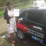 Emmaculate passed with Dave Pickford Automatic Driver Training