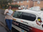 Farhana passed with Dave Pickford Automatic Driver Training