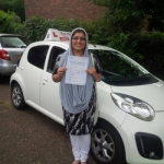 Ferbin Shareef passed with Dave Pickford Automatic Driver Training