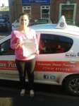Gemma Pardon passed with Dave Pickford Automatic Driver Training