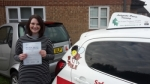 Gemma Smith passed with Dave Pickford Automatic Driver Training