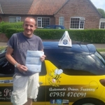Grant Perrett passed with Dave Pickford Automatic Driver Training