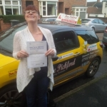 Heather passed with Dave Pickford Automatic Driver Training