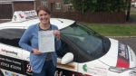 Heidi passed with Dave Pickford Automatic Driver Training