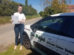 Jade passed with Dave Pickford Automatic Driver Training