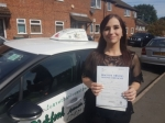 Jade L passed with Dave Pickford Automatic Driver Training
