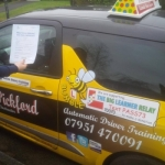 Jawaria passed with Dave Pickford Automatic Driver Training