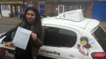 Jessey Miah passed with Dave Pickford Automatic Driver Training