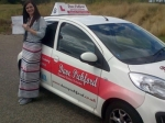 Jessica Colasuono passed with Dave Pickford Automatic Driver Training