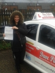 Joanna Janczak passed with Dave Pickford Automatic Driver Training