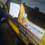Jodie Riches passed with Dave Pickford Automatic Driver Training