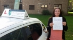 Kate B passed with Dave Pickford Automatic Driver Training