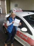Kelly Hume passed with Dave Pickford Automatic Driver Training