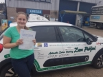 Kelsey passed with Dave Pickford Automatic Driver Training
