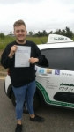 Kieran passed with Dave Pickford Automatic Driver Training