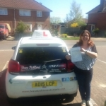 Laura D passed with Dave Pickford Automatic Driver Training