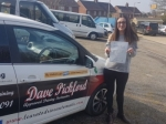 Laura M passed with Dave Pickford Automatic Driver Training
