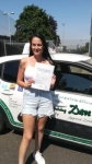 Laura B passed with Dave Pickford Automatic Driver Training
