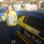 Lisa Hames passed with Dave Pickford Automatic Driver Training