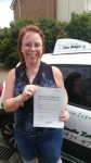 Louise passed with Dave Pickford Automatic Driver Training