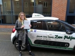 Lucy passed with Dave Pickford Automatic Driver Training