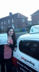 Lydia passed with Dave Pickford Automatic Driver Training