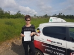Marisa passed with Dave Pickford Automatic Driver Training