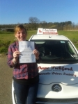 Martine passed with Dave Pickford Automatic Driver Training