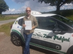 Nick passed with Dave Pickford Automatic Driver Training
