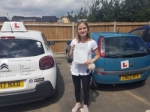 Paula passed with Dave Pickford Automatic Driver Training