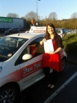 Rachel Rogers passed with Dave Pickford Automatic Driver Training