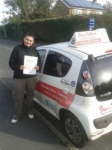 Rachel Skelton passed with Dave Pickford Automatic Driver Training