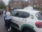 Rebecca G passed with Dave Pickford Automatic Driver Training