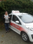 Rebecca Morris passed with Dave Pickford Automatic Driver Training