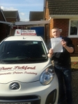 Reece passed with Dave Pickford Automatic Driver Training