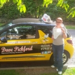 Sabrina passed with Dave Pickford Automatic Driver Training