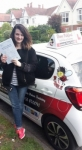 Samantha Chapman passed with Dave Pickford Automatic Driver Training