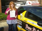Sandie Smith passed with Dave Pickford Automatic Driver Training