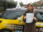 Sohaid passed with Dave Pickford Automatic Driver Training