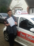 Tonicha Pond passed with Dave Pickford Automatic Driver Training