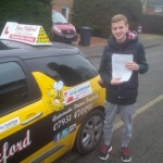Warren Fossey passed with Dave Pickford Automatic Driver Training