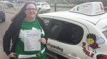 Wendy passed with Dave Pickford Automatic Driver Training